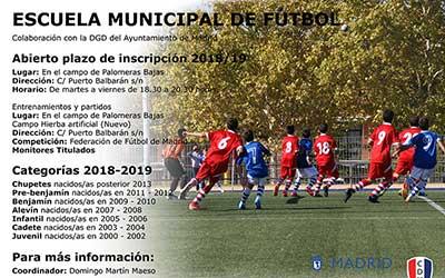 Escuela municipal de futbol