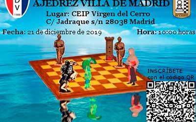 V Torneo Abierto Internacional de ajedrez «Villa de Madrid»